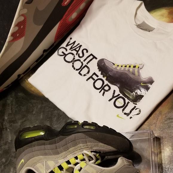 Nike Shirts Air Max 95 Shirt Poshmark
